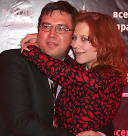 С мужем Олегом