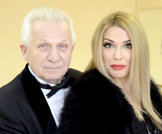 Ольга Сумская и Евгений Паперный