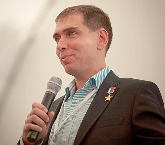 Космонавт Сергей Волков