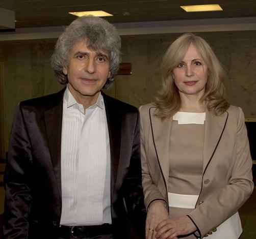Симон Осиашвили и Татьяна Короповская
