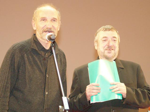 Петр Мамонов и Павел Лунгин