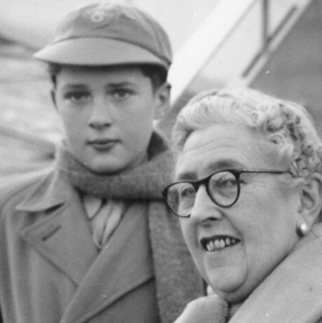 Агата Кристи с внуком Мэтью