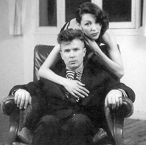 Эдуард Лимонов и Наталья Медведева