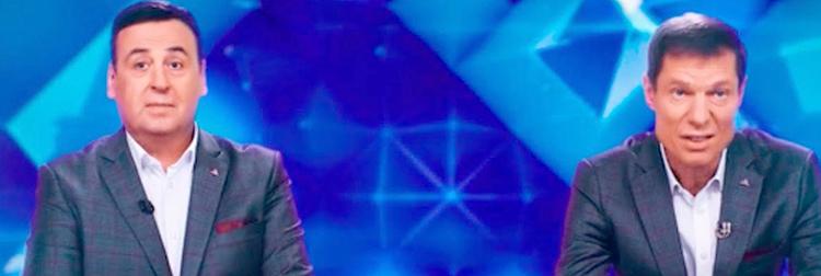 Владимир Данилец и Владимир Моисеенко в программе «15 минут о наболевшем»