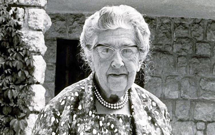 Агата Кристи в старости