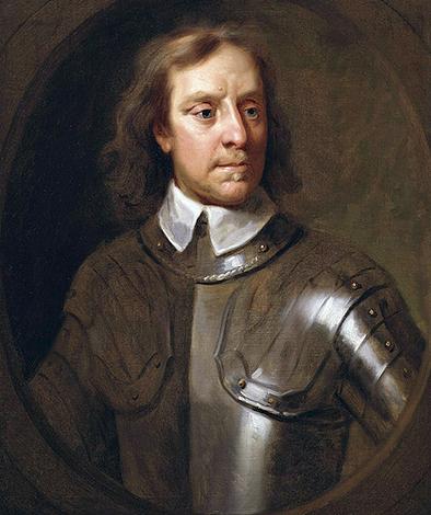 Портрет Оливера Кромвеля. худ. Сэмюэль Купер. 1656 г.