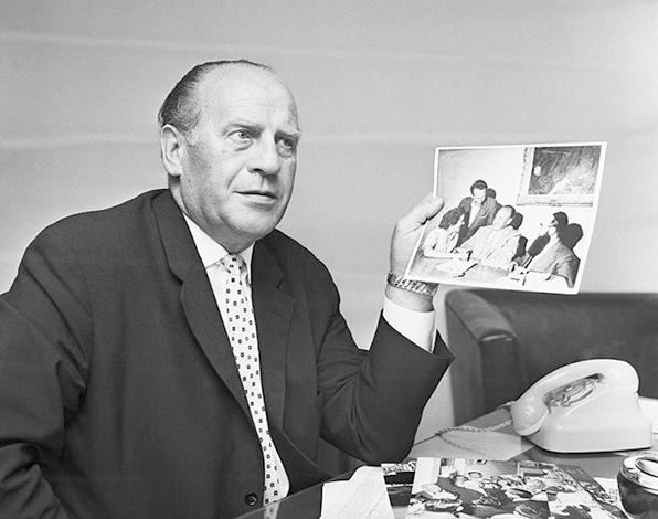 Оскар Шиндлер в 1963 г.