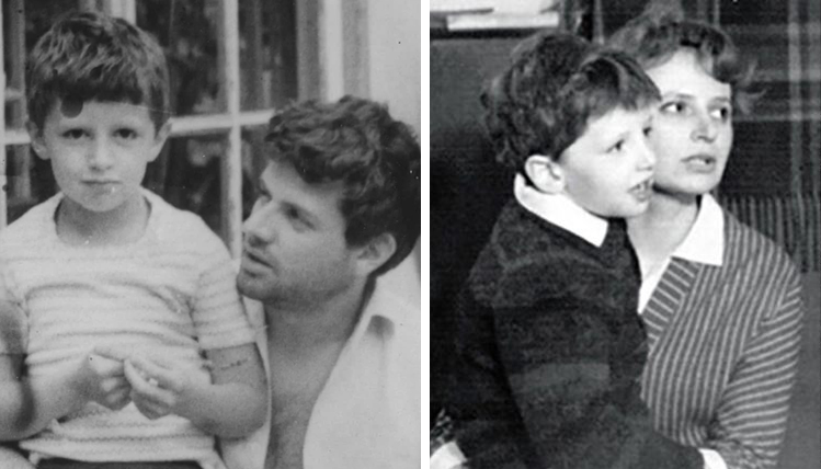 Михаил Ширвиндт с родителями в детстве