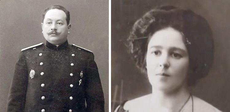 Родители — Григорий Михайлович и Евгения Самойловна