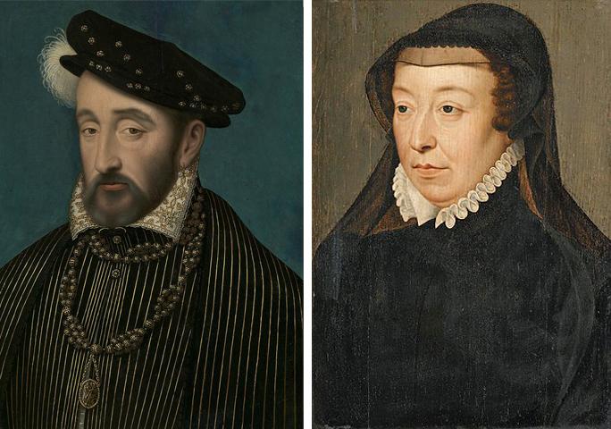 Родители — Генрих II и Екатерина Медичи
