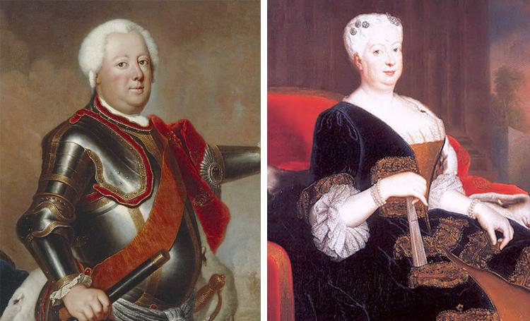 Родители – Фридрих Вильгельм I и София Доротея Ганноверская
