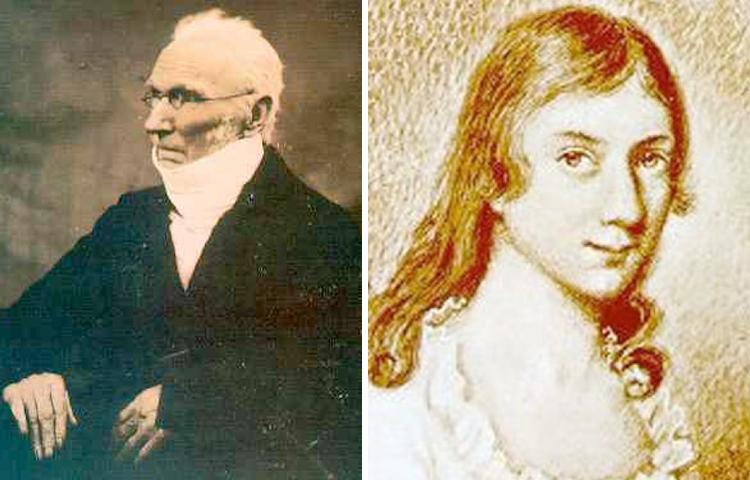 Родители — Патрик и Мария