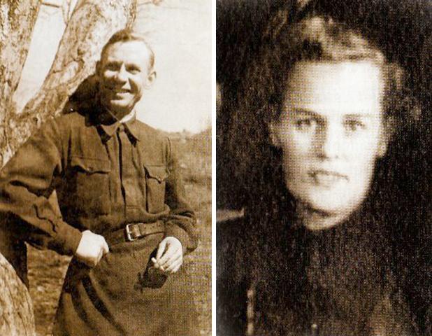 Родители — Алексей Иванович и Вера Георгиевна