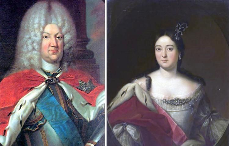 Родители — Карл Леопольд и Екатерина Иоанновна