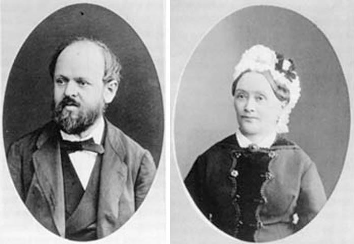 Родители — Теодор и Элиза