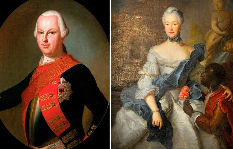 Родители — Людвиг IX и Генриетта Каролина Пфальц-Биркенфельдская