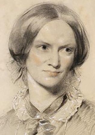 Шарлотта Бронте на портрете Джорджа Ричмонда (1850, бумага, мел)