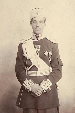 Михаил Романов в конце 1890-ых годов