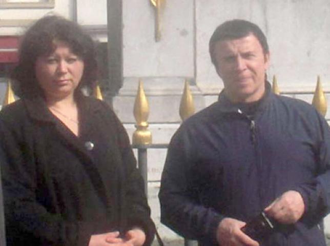 Со второй женой Ириной