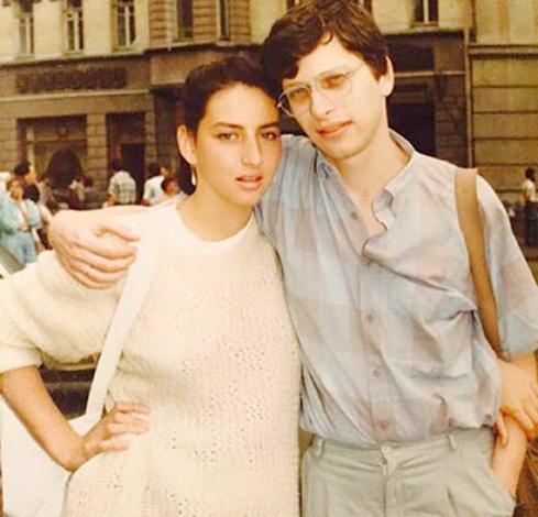 С Аликой Смеховой в молодости