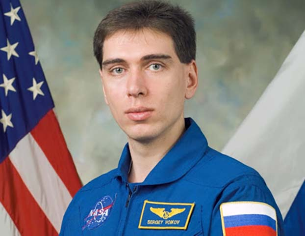 Сергей Волков в молодости