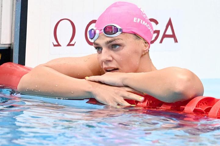 Юлия Ефимова на Олимпиаде в Токио