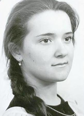 Наталия Могилевская в юности