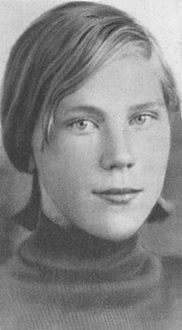 Роза Шанина в юности