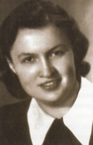 Жена Маргарита Михайловна в молодости