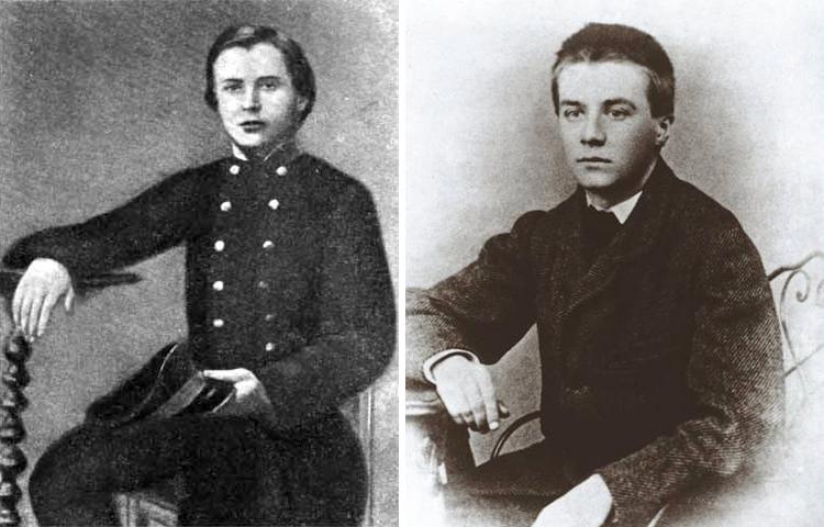Александр Столетов во время учебы в гимназии