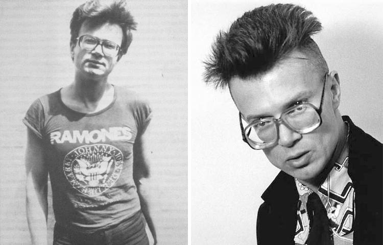 Эдуард Лимонов в молодости