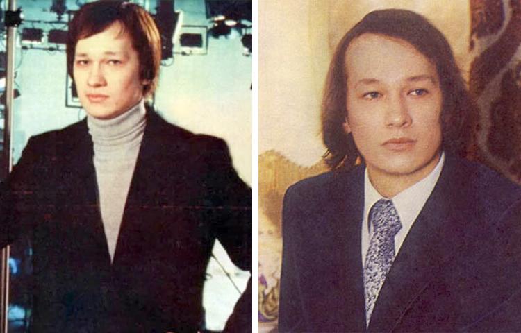 Леонид Каюров в молодости