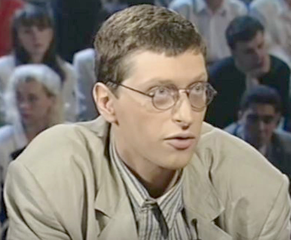 Сергей Ливнев в молодости