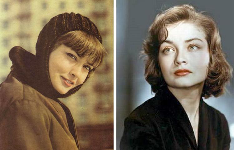 Жанна Болотова в молодости