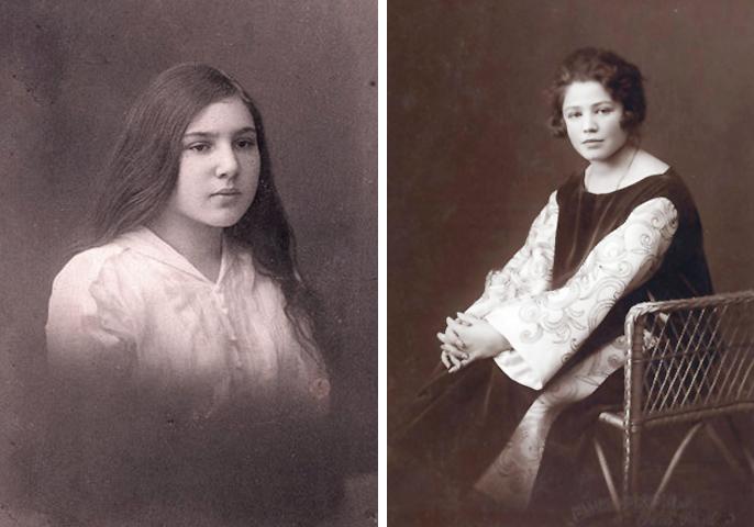 Тамара Габбе в юности и молодости