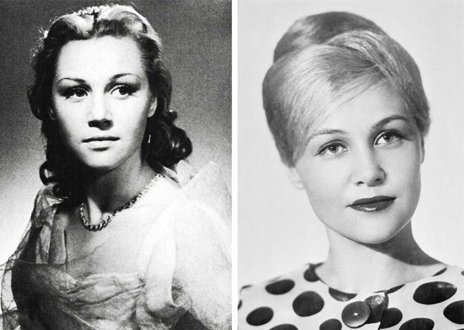 Татьяна Конюхова в молодости