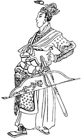 Хан Батый (китайский рисунок XIV века)
