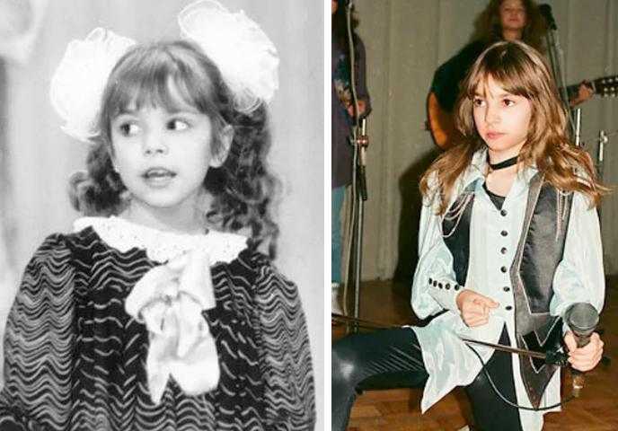 Светлана Светикова в детстве