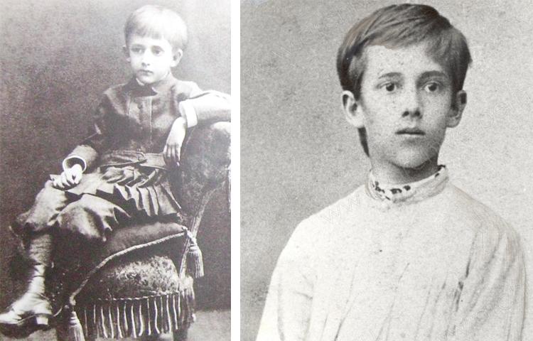 Михаил Осоргин в детстве