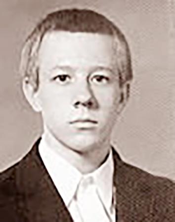 Николай Андрианов в юности