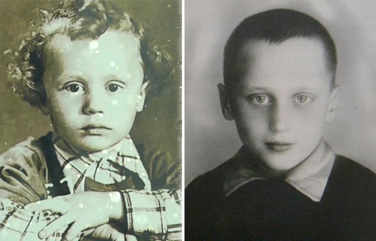 Владимир Мулявин в детстве
