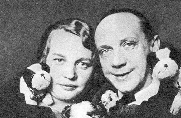 Михаил Чехов и Ксения Циллер