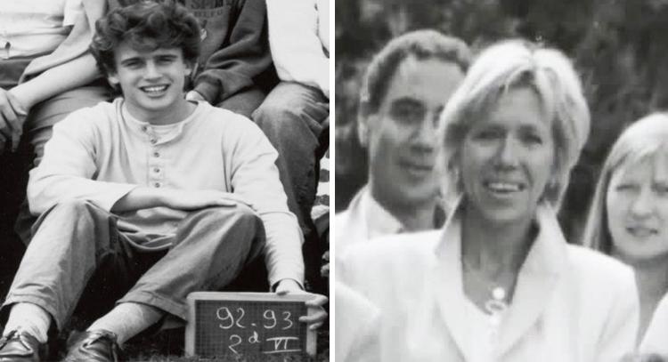 Эммануэль Макрон и Брижит Тронье (1992-1993)