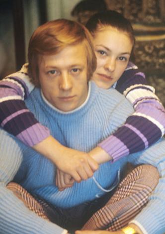 Николай Андрианов и жена Любовь