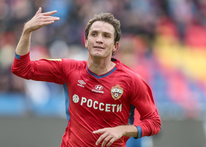 Марио Фернандес в составе ЦСКА