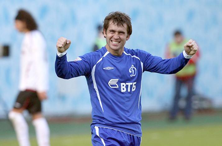 Александр Кержаков в составе «Динамо»