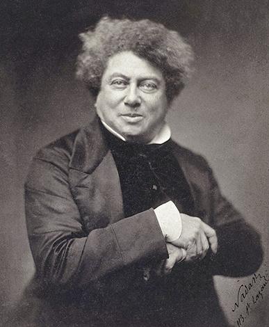 Александр Дюма в 1855 г.