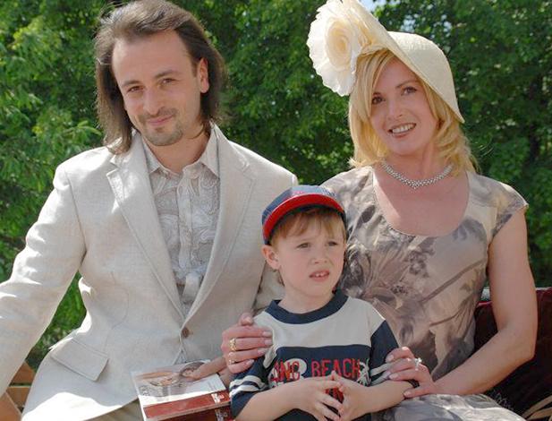 С Ириной Лобачевой и сыном Мартином