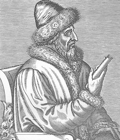 Василий III. Гравюра Андре Теве