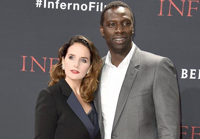 С женой Элен